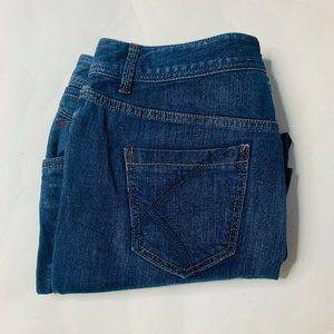 Lane Bryant Jeans Womens Size 14 Stretch Capri